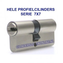 Hele cilinder serie 7x7