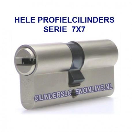 Hele cilinder serie 7x7