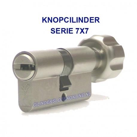 Knopcilinder serie 7x7