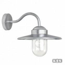 Wandlamp Dolce Verzinkt staal